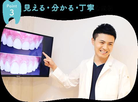 経堂 歯医者 丁寧な説明